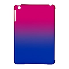 Pink Blue Purple Apple iPad Mini Hardshell Case (Compatible with Smart Cover) by AnjaniArt