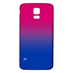 Pink Blue Purple Samsung Galaxy S5 Back Case (white) by AnjaniArt