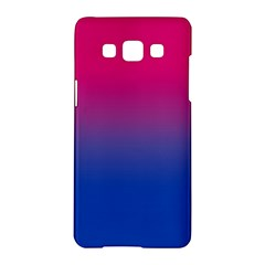 Pink Blue Purple Samsung Galaxy A5 Hardshell Case  by AnjaniArt