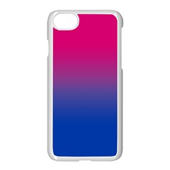 Pink Blue Purple Apple iPhone 7 Seamless Case (White) by AnjaniArt