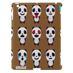 Panda Emoticon Apple Ipad 3/4 Hardshell Case (compatible With Smart Cover) by AnjaniArt