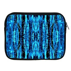 Bright Blue Turquoise  Black Pattern Apple Ipad 2/3/4 Zipper Cases