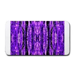 Bright Purple Rose Black Pattern Medium Bar Mats by Costasonlineshop