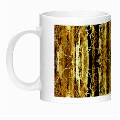 Beige Brown Back Wood Design Night Luminous Mugs by Costasonlineshop