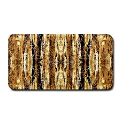Beige Brown Back Wood Design Medium Bar Mats