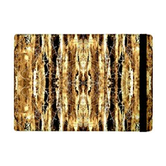 Beige Brown Back Wood Design Ipad Mini 2 Flip Cases by Costasonlineshop