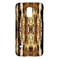 Beige Brown Back Wood Design Galaxy S5 Mini by Costasonlineshop