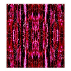 Pink Burgundy Traditional Pattern Shower Curtain 66  X 72  (large)