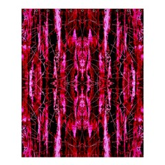 Pink Burgundy Traditional Pattern Shower Curtain 60  X 72  (medium)  by Costasonlineshop