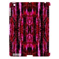 Pink Burgundy Traditional Pattern Apple Ipad 3/4 Hardshell Case (compatible With Smart Cover) by Costasonlineshop