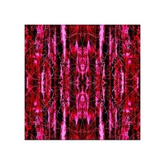 Pink Burgundy Traditional Pattern Acrylic Tangram Puzzle (4  X 4 ) by Costasonlineshop