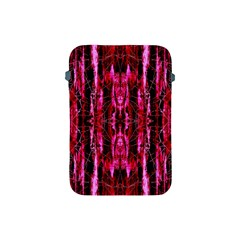 Pink Burgundy Traditional Pattern Apple Ipad Mini Protective Soft Cases