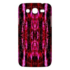 Pink Burgundy Traditional Pattern Samsung Galaxy Mega 5.8 I9152 Hardshell Case  by Costasonlineshop