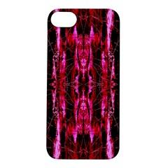 Pink Burgundy Traditional Pattern Apple Iphone 5s/ Se Hardshell Case