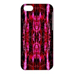 Pink Burgundy Traditional Pattern Apple Iphone 5c Hardshell Case by Costasonlineshop