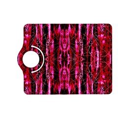 Pink Burgundy Traditional Pattern Kindle Fire Hd (2013) Flip 360 Case