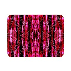 Pink Burgundy Traditional Pattern Double Sided Flano Blanket (mini)  by Costasonlineshop