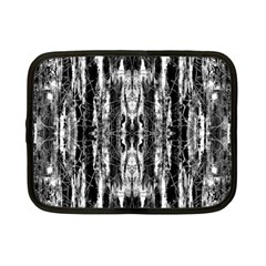 Black White Taditional Pattern  Netbook Case (small)