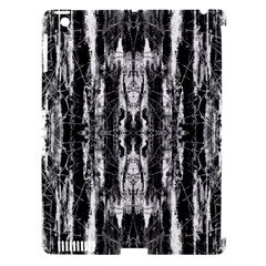 Black White Taditional Pattern  Apple Ipad 3/4 Hardshell Case (compatible With Smart Cover)
