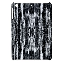 Black White Taditional Pattern  Apple Ipad Mini Hardshell Case by Costasonlineshop