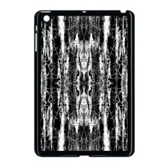 Black White Taditional Pattern  Apple Ipad Mini Case (black)