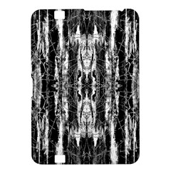 Black White Taditional Pattern  Kindle Fire Hd 8 9