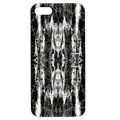 Black White Taditional Pattern  Apple Iphone 5 Hardshell Case With Stand