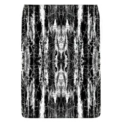 Black White Taditional Pattern  Flap Covers (l)