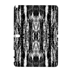 Black White Taditional Pattern  Galaxy Note 1 by Costasonlineshop