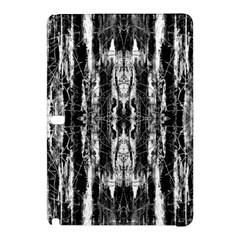 Black White Taditional Pattern  Samsung Galaxy Tab Pro 12 2 Hardshell Case