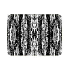 Black White Taditional Pattern  Double Sided Flano Blanket (mini)