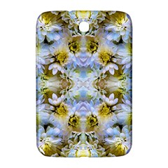 Blue Yellow Flower Girly Pattern, Samsung Galaxy Note 8 0 N5100 Hardshell Case