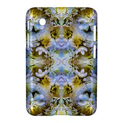 Blue Yellow Flower Girly Pattern, Samsung Galaxy Tab 2 (7 ) P3100 Hardshell Case