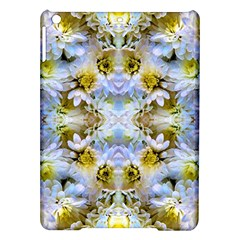 Blue Yellow Flower Girly Pattern, iPad Air Hardshell Cases by Costasonlineshop