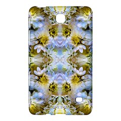 Blue Yellow Flower Girly Pattern, Samsung Galaxy Tab 4 (7 ) Hardshell Case  by Costasonlineshop