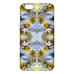 Blue Yellow Flower Girly Pattern, Iphone 6 Plus/6s Plus Tpu Case