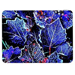 Blue Leaves In Morning Dew Samsung Galaxy Tab 7  P1000 Flip Case
