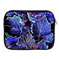 Blue Leaves In Morning Dew Apple Ipad 2/3/4 Zipper Cases by Costasonlineshop