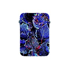 Blue Leaves In Morning Dew Apple Ipad Mini Protective Soft Cases by Costasonlineshop