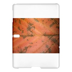 Red Leaf Texture Samsung Galaxy Tab S (10 5 ) Hardshell Case  by SamEarl13