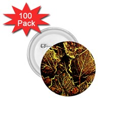 Leaves In Morning Dew,yellow Brown,red, 1 75  Buttons (100 Pack)  by Costasonlineshop