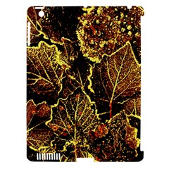 Leaves In Morning Dew,yellow Brown,red, Apple Ipad 3/4 Hardshell Case (compatible With Smart Cover)