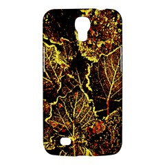 Leaves In Morning Dew,yellow Brown,red, Samsung Galaxy Mega 6 3  I9200 Hardshell Case by Costasonlineshop