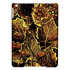 Leaves In Morning Dew,yellow Brown,red, Ipad Air Hardshell Cases