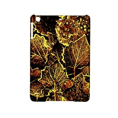Leaves In Morning Dew,yellow Brown,red, Ipad Mini 2 Hardshell Cases