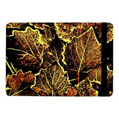 Leaves In Morning Dew,yellow Brown,red, Samsung Galaxy Tab Pro 10 1  Flip Case
