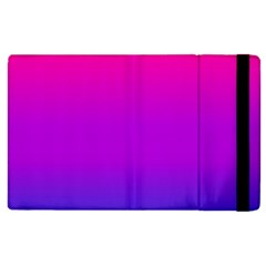 Pink Purple Blue Apple Ipad 2 Flip Case by AnjaniArt