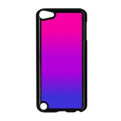 Pink Purple Blue Apple Ipod Touch 5 Case (black) by AnjaniArt