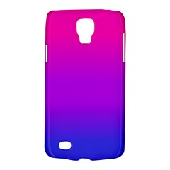 Pink Purple Blue Galaxy S4 Active by AnjaniArt