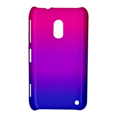 Pink Purple Blue Nokia Lumia 620 by AnjaniArt